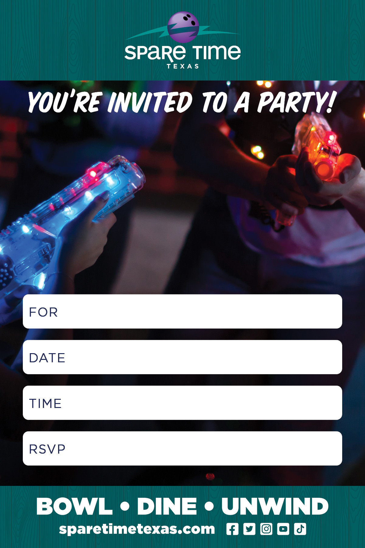 Parties + Events